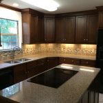 oak cabinets new kitchen island in lexington ky