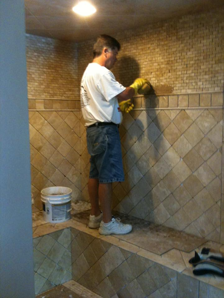 bathroom tile contractor lexington kentucky ceramic tiling tiles installation installer installed